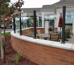 Century Railings – Clear Glass Railing Panels