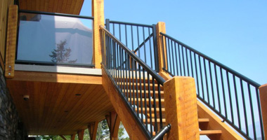 <p>IT'S YOUR HOME, IT'S YOUR VIEW. Distinctive, durable, long lasting beauty. Century Railings has many glass and picket railing styles with many shades to choose from. Century's aluminum railings are safe, attractive and easy to install.</p>