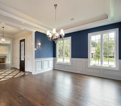 Menzner Hardwoods – Painted Wainscoting and Recessed Ceiling